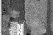 Vista satellitare dell'Ospedale e indicazione del nuovo edificio