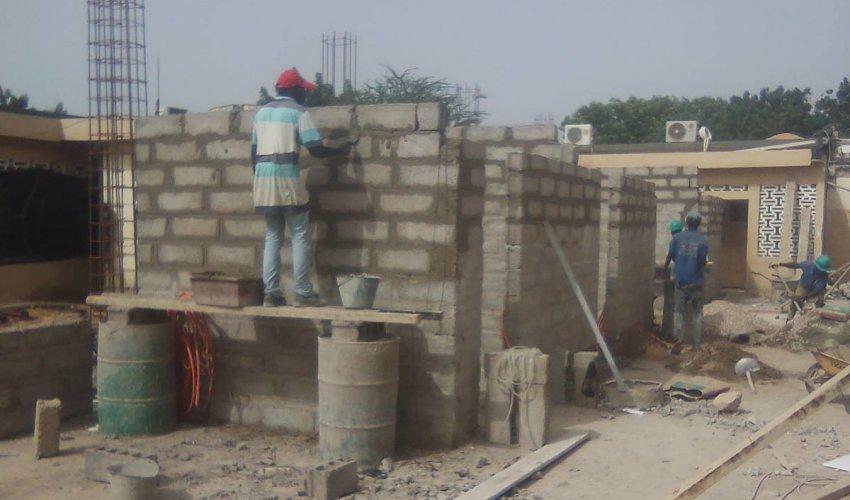 Casa Operatori Sanitari - avanzamento lavori