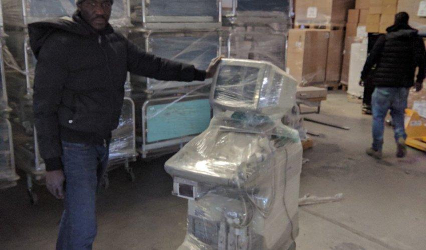 Materiali giunti all'ospedale: aggiornamento giugno 2018-22