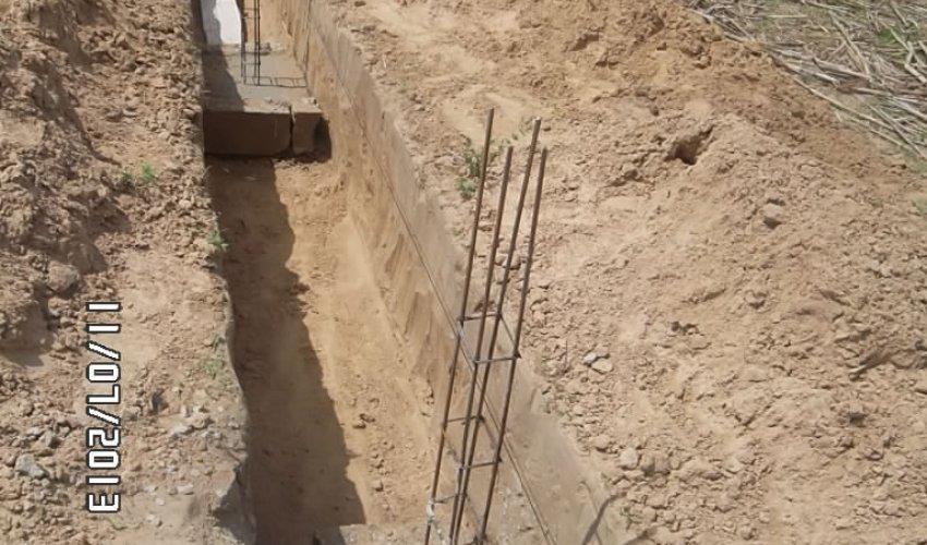 Muro di recinzione: aggiornamento 11 luglio 2013-4