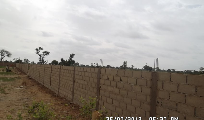 Muro di recinzione: aggiornamento 26 luglio 2013